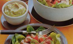 Insalata di manzo alla salsa verde a